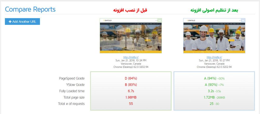 فیلم آموزش فارسی wp rocket افزایش سرعت سایت با افزونه